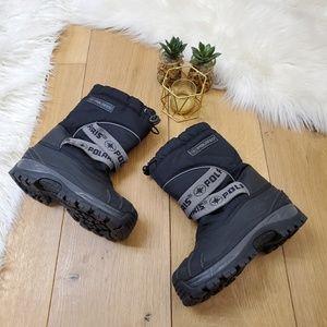 Polaris Black Snow Boots